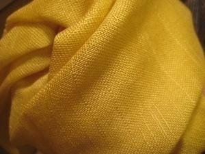 オリーブストール黄色